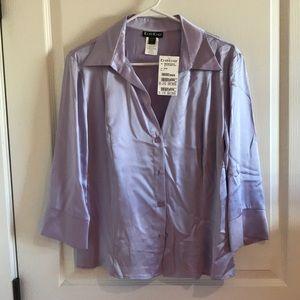 100% silk Bebe blouse